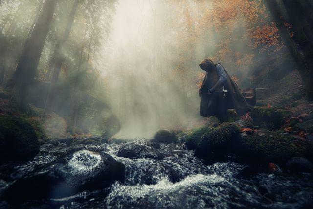 Merging with nature - Splynutí s přírodou