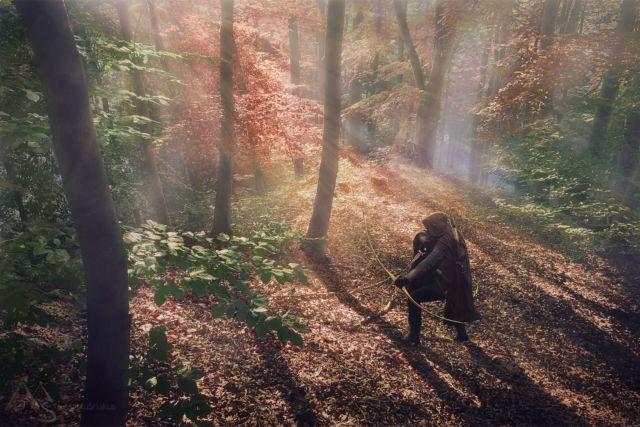 Guardian of the forest --- Strážce lesa