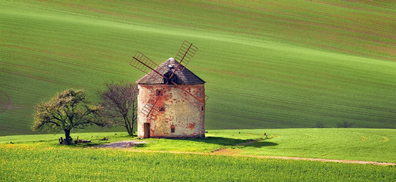 South Moravian windmill --- Jihomoravský větrný mlýn